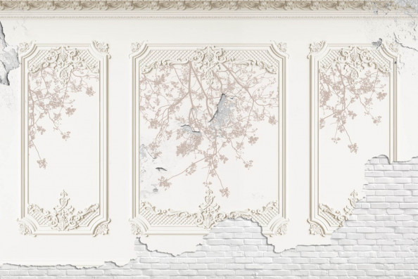 Фотообои фреска, арка