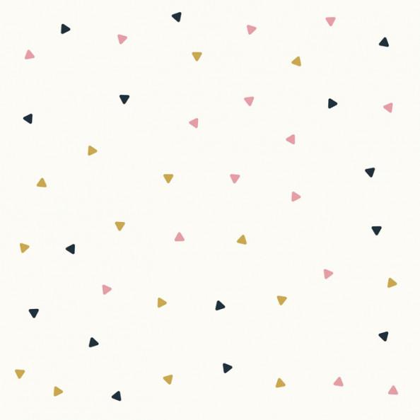 Фотообои Паттерн цветгых треугольников