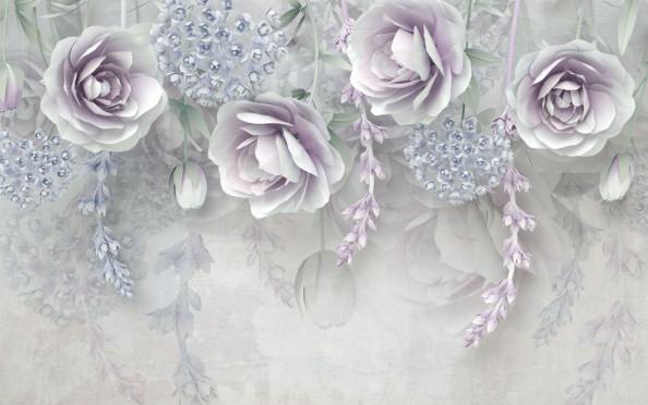 Фотообои красивые цветы