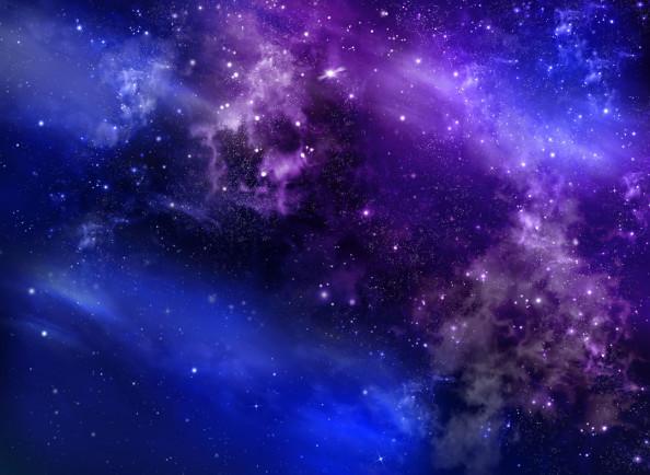 Фотообои Звездное ночное небо глубокий космос