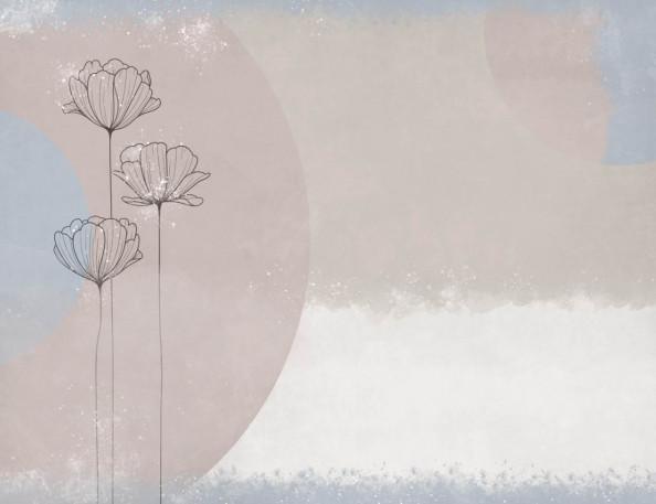 Фотообои водяние лилии