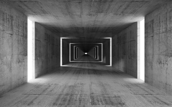 Фотообои 3d тоннель