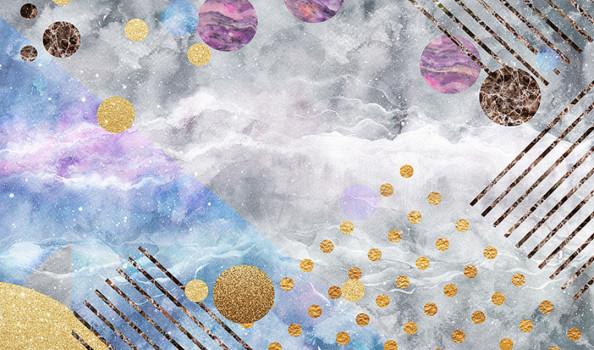 Фотообои Абстракция, цветная текстура