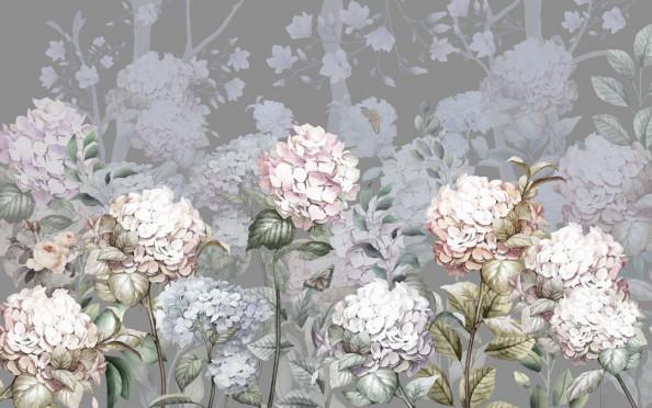 Фотообои  Паттерн цветов