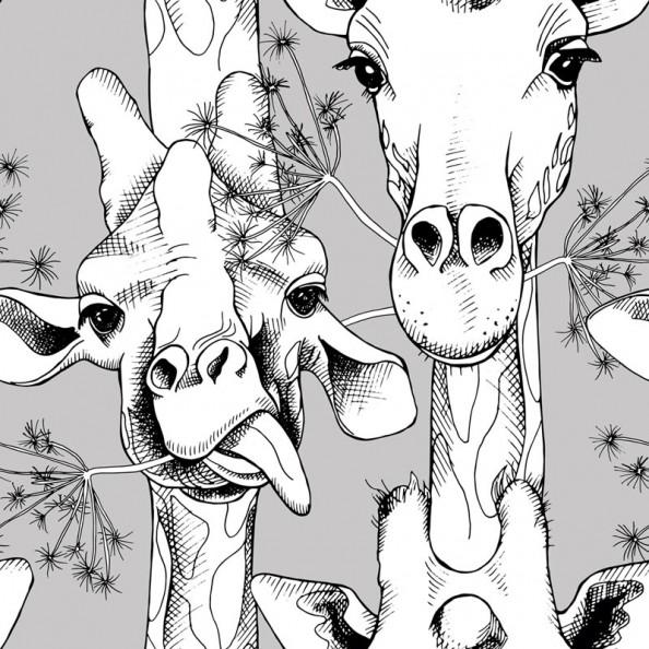 Фотообои Жирафы, лофт