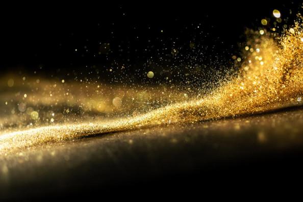 Фотообои Золотая пыль