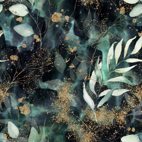 Фотообои Дизайнерский принт с листьями