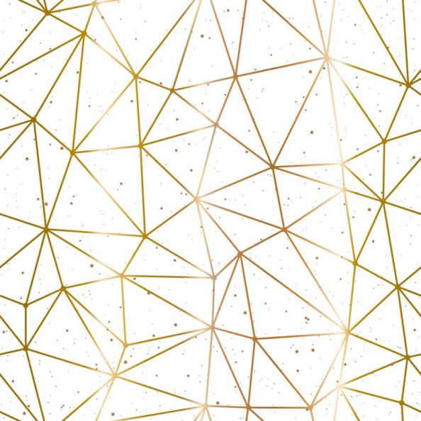 Фотообои Золотистая геометрия