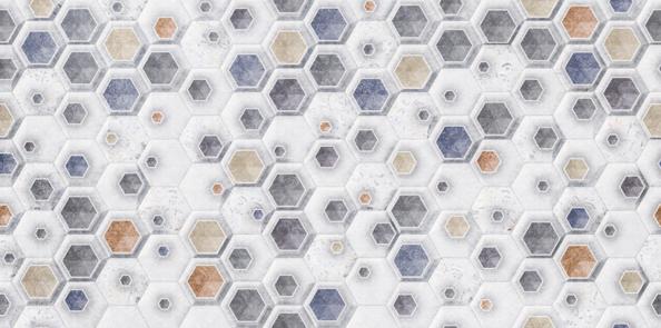 Фотообои Геометрия, шестиугольники