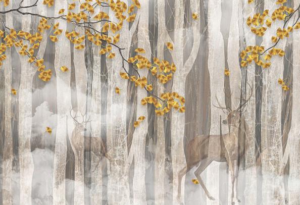 Фотообои Звери в лесу