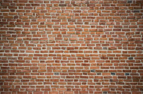 Фотообои  Стена из красного кирпича