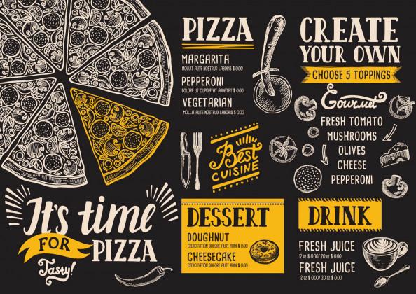Фотообои пицца