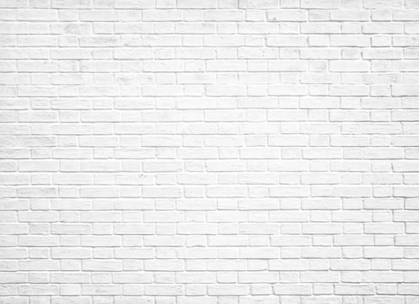 Фотообои Белая кирпичнач стена