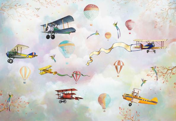 Фотообои Детские самолетики