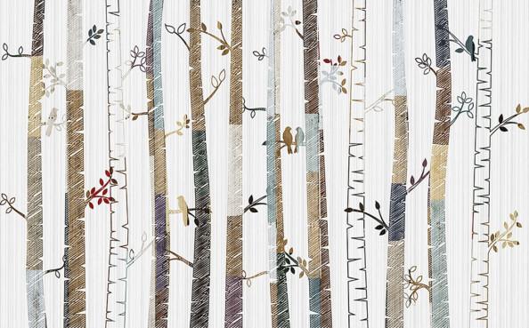 Фотообои Дизайнерские деревья