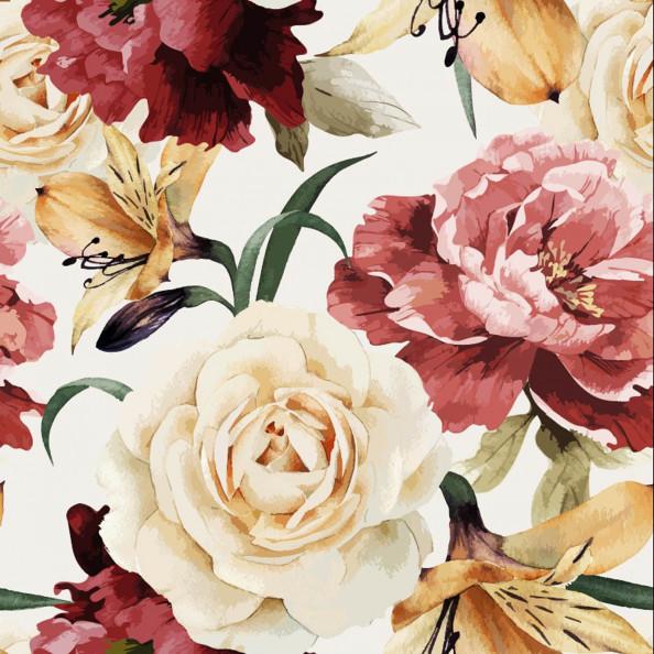 Фотообои цветы, розы