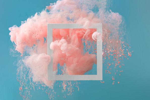 Фотообои Абстракция, цветные краски