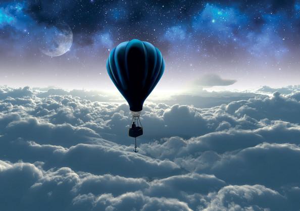 Фотообои воздушный шар