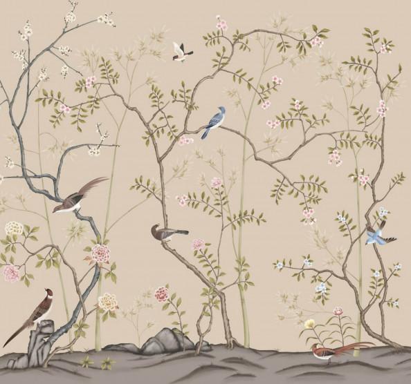 Фотообои ветви и птицы
