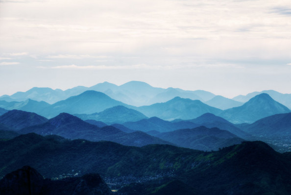 Фотообои Скавдинавский стиль, горы