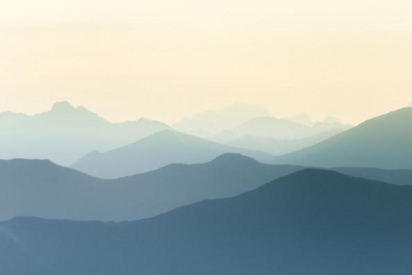 Фотообои Скандинавские горы