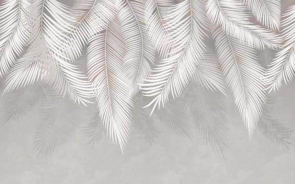 Фотообои  Листья с потолка