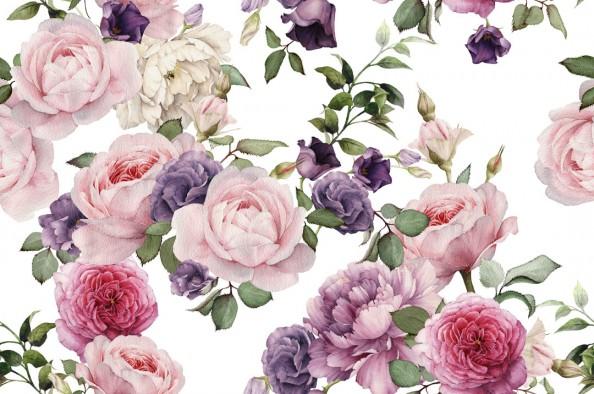 Фотообои Красивая цветочная композиция