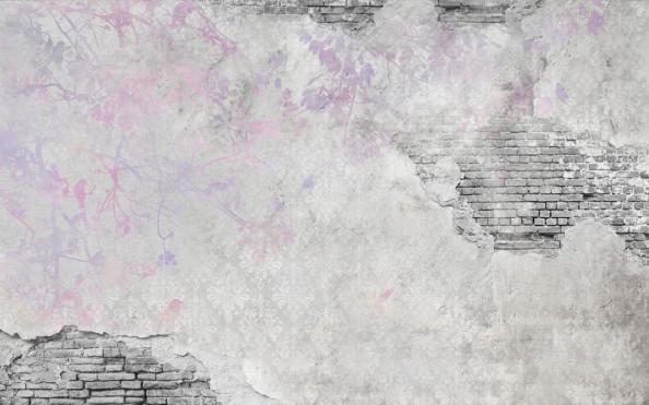 Фотообои  Стена с фреской