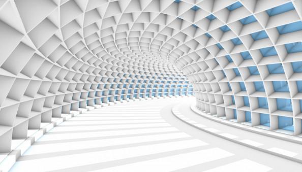 Фотообои тоннель 3д
