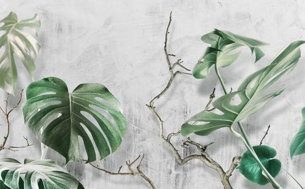 Фотообои Дизайнерские листья папоротника