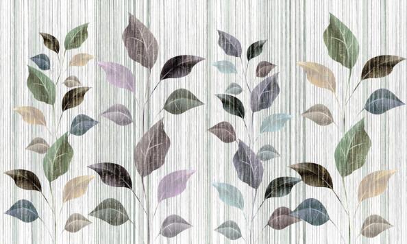 Фотообои Листь с потертостями