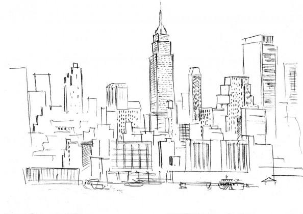 Фотообои Архитектура города
