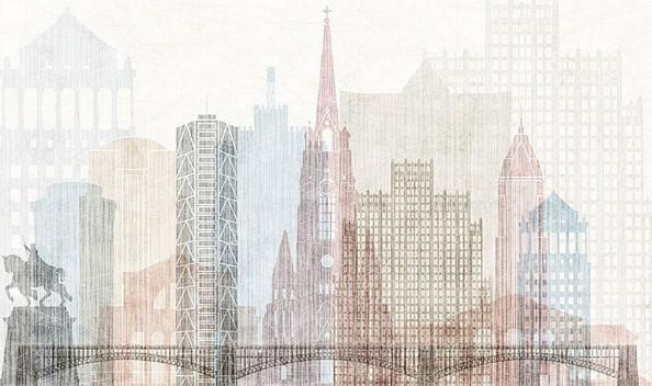 Фотообои Ретро архитектура