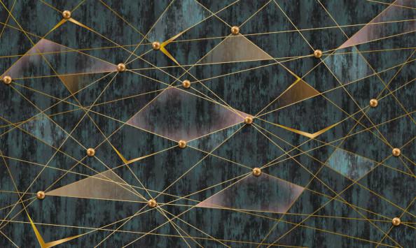 Фотообои лгеометрия