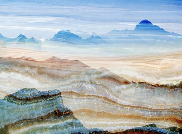 Фотообои Мраморные горы