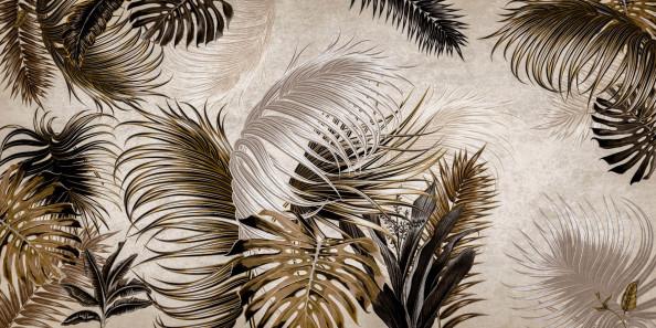 Фотообои тропические листья