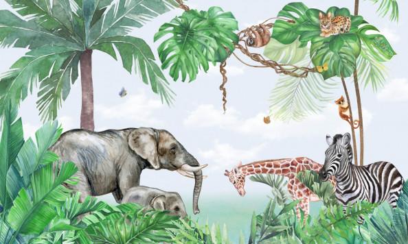 Фотообои животные в тропиках
