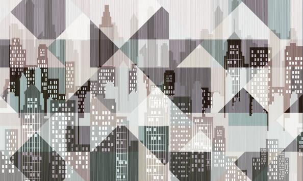 Фотообои Город, абстракция