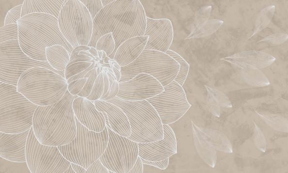 Фотообои  векторный цветок